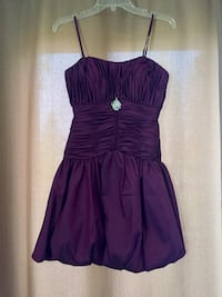 *RENT ONLY* Women's purple cocktail dress size 0 Pittsburgh, 15220