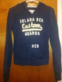 Small hollister hoodie Southgate
