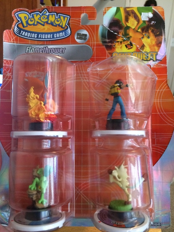 """Never Opened Pokemon 4 Pack Trading Figure Game """"Next Quest"""""""