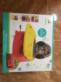 Disney cars 2-in-1 feeding seat box Citrus Heights, 95610