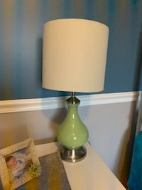 Green lamp from Pier One Store Chesterfield, 48047