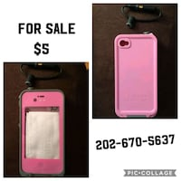 New pink iPhone 4S waterproof case Washington, 20032