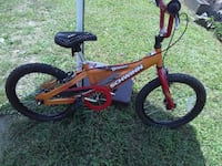 toddler's red and black BMX bike Newport, 41071