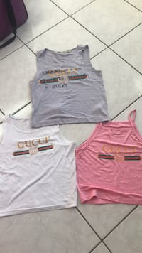 Tank top Gucci size Smal ,10 $ each ( 3 for $20) Calgary, T2B 3G1