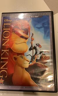 The Lion King DVD and BLU-RAY