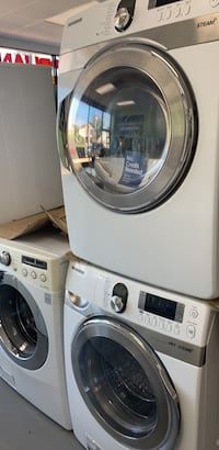 Samsung washer and electric dryer with steam feature on sale no credit needed Essex, 21221