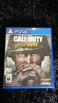 Ps4 call of duty wwii  Guelph, N1H 6W2