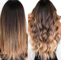 Hair styling/ Tape In Hair Extensions Langley