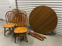 two brown wooden windsor chairs Brooklyn Park