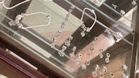 silver-colored necklace with earrings Prattville, 36067