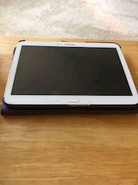 white Samsung Galaxy Tab with black case Lawrenceville