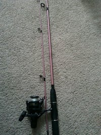 pink and black fishing rod Edmonton, T5T