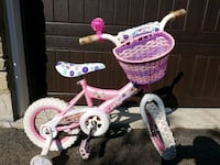 Pink bike with training wheels, basket and bell! Vaughan, L6A 4B2