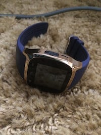 Blue and gold smart watch Alexandria, 71301