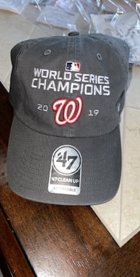 Washingtion Nationals world series hat Woodbridge, 22193