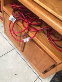 Cabinet for tv with wheels good condition  New Port Richey, 34653