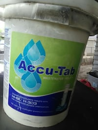 Accu-Tab wastewater tablets