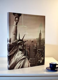 "Unique ""Liberty"" Collage Print"