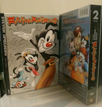 Animaniacs & Pinky and the Brain Vol 1&2 DVDs Burlingame