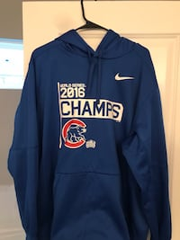 blue and yellow Nike pull over hoodie Spring Hill, 37179