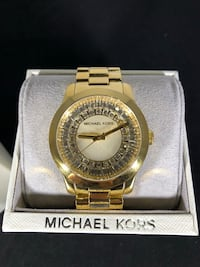 MK6532 - Michael Kors Women's Runway Baguette Gold-Tone Watch Richmond Hill, L4C 1W3