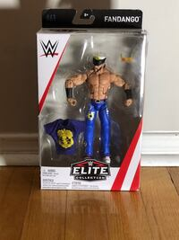 Wwe fandango elite action figure Oakville