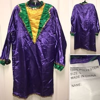 Mardi Gras- Men's Costume Set-NEW Lafayette, 70508