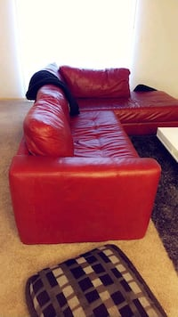 Red Leather Sectional Fargo, 58104