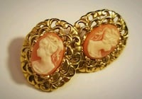 Vintage cameo earings Centreville, 20120