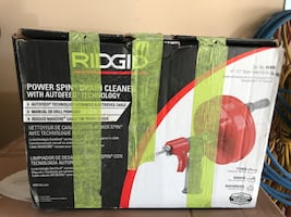 Ridgid Power Spin Drain Cleaner