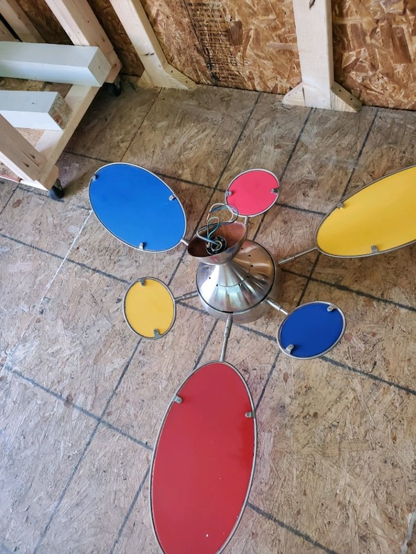 "54"" Cirque Ceiling Fan by Minka Aire Fans - F596-BN 1"