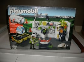 Playmobil top agents box New never opened