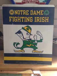 notre dame fighting irish book Stone Park, 60165