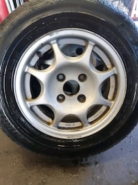 1st 2nd And 3rd Honda Civic Gen Wheel Set