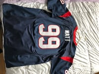 Houston Texans Watt Jersey - Men's Large Pickering