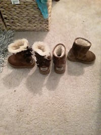 Uggs boots med brown