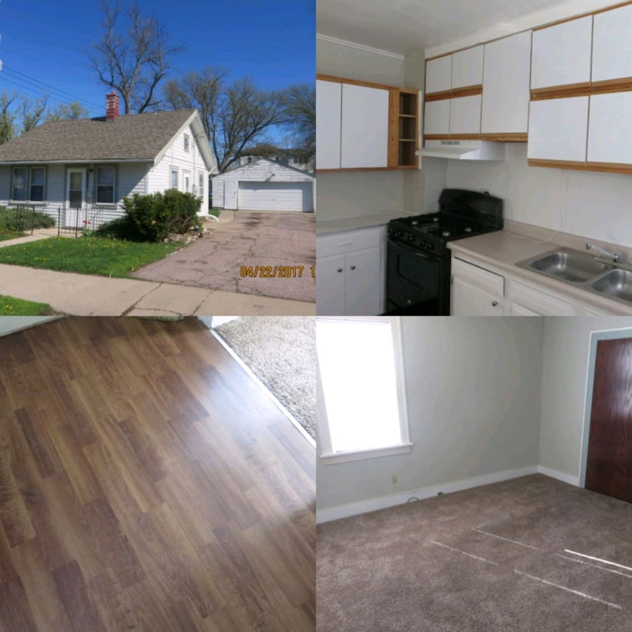 Cheaper than renting! 1+BR house w/large garage