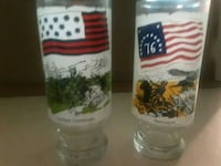 Limited Edition FLAGS For FREEDOM Collectors Glass New Port Richey, 34653