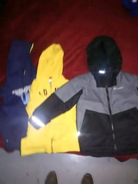 black and yellow zip-up jacket Woodbridge, 22191