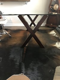 Glass Table - Like New Cypress
