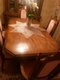 Dining table/ hutch
