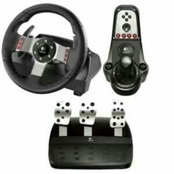 Logitech G27 pedals and shifter no steering wheel