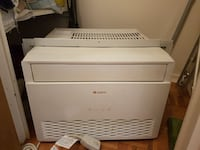 white Gace window-type AC unit Toronto, M1J 3H5