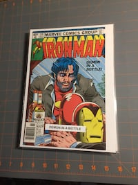 Iron man 128 comic Halton Hills, L7J