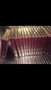 Encyclopedia new like CONDITION GOLD TIPPED MAKES A PERFECT GIFT FOR YOU OR A LIVED ONE WHO LOVES KNOWLEDGE THANK YOU I APPRECIATE YOU COST ALMOST $1,000.00 NEW