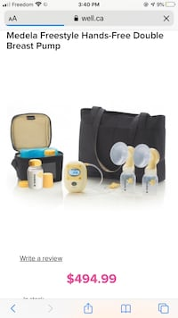 Medela Breast pump brand new Brampton, L7A 3W4