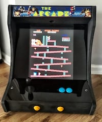 Tabletop Arcade Video Game System w/ classic vintage titles North Charleston, 29485