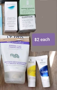 Misc. Luxe Skincare samples  Toronto, M9B 1A9
