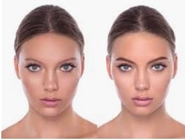 Henna brows and brows mapping