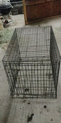 XL metal dog crate Boring, 97009